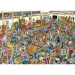 Puzzle 1000 pièces - Jan Van Haasteren : Ah les puces !