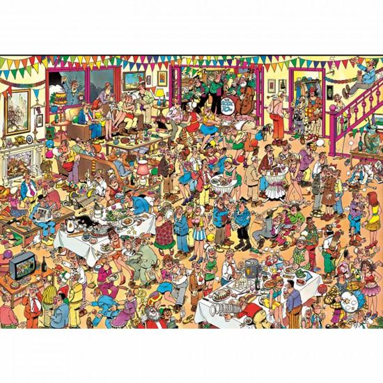 Puzzle 1000 pièces - Jan Van Haasteren : Anniversaire spécial - Jumbo-001489