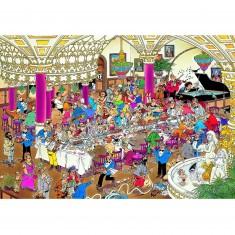 Puzzle 1000 pièces - Jan Van Haasteren : La noce
