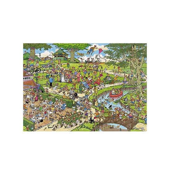 Puzzle 1000 pièces - Jan Van Haasteren : Le Parc - Jumbo-01492