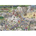 Puzzle 1000 pièces - Jan Van Haasteren : Le Zoo