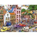 Puzzle 1500 pièces - Jan Van Haasteren : Vendredi 13