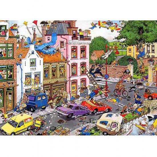 Puzzle 1500 pièces - Jan Van Haasteren : Vendredi 13 - Jumbo-00981
