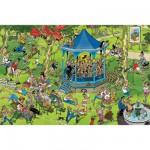 Puzzle 1500 pièces - Jan Van Haasteren : Kiosque à musique