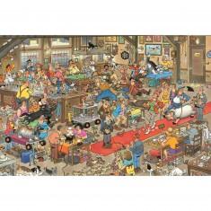 Puzzle 1500 pièces - Jan Van Haasteren : Concours canins