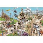 Puzzle 1500 pièces - Jan Van Haasteren : Le Tour de France