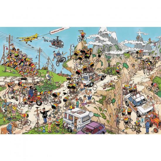 Puzzle 1500 pièces - Jan Van Haasteren : Le Tour de France - Jumbo-002086