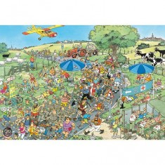 Puzzle 2000 pièces - Jan Van Haasteren : La marche