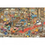 Puzzle 3000 pièces - Jan Van Haasteren : Concours canins