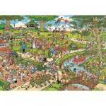 Puzzle 3000 pièces - Jan Van Haasteren : Le parc