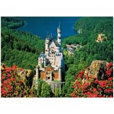 Puzzle 1000 pièces : Château de Neuschwanstein, Alemagne