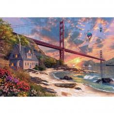 Puzzle 1000 pièces : Golden Gate Bridge