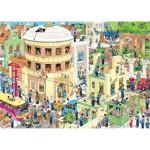 Puzzle 1000 pièces : Jan Van Haasteren : L'évasion