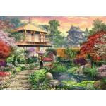 Puzzle 1000 pièces : Jardin japonais