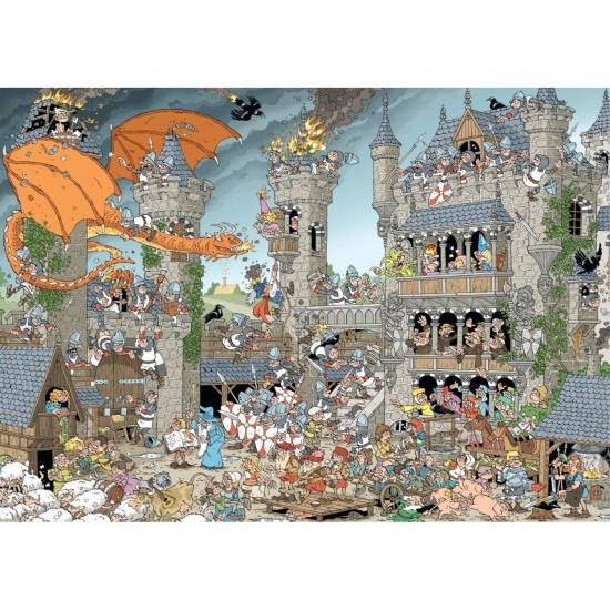Puzzle 1000 pièces : Le château - Jumbo-19202