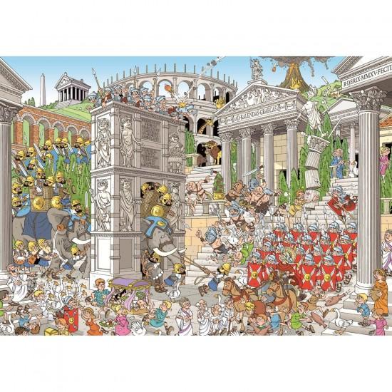 Puzzle 1000 pièces : Les romains - Jumbo-19203