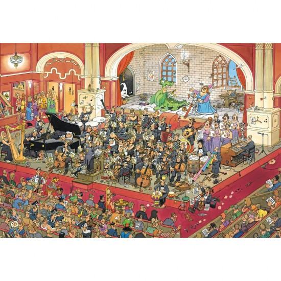 Puzzle 1000 pièces : L'opéra - Jumbo-617214