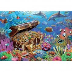 Puzzle 1000 pièces : Trésors sous-marins