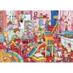 Puzzle 1000 pièces : Wasgij : La garderie en folie