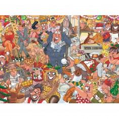 Puzzle 1000 pièces : Wasgij : Noël