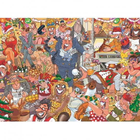 Puzzle 1000 pièces : Wasgij : Noël - Jumbo-19118