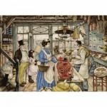 Puzzle 1000 pièces - Anton Pieck : L'épicerie