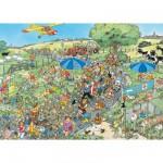 Puzzle 1000 pièces - Jan Van Haasteren : Le marathon