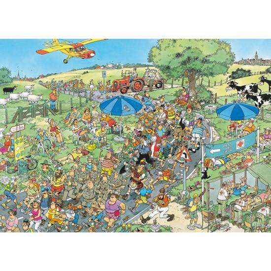 Puzzle 1000 pièces - Jan Van Haasteren : Le marathon - Jumbo-13041