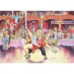 Puzzle 1000 pièces - Wasgij : Danse de salon