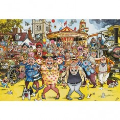 Puzzle 1000 pièces - Wasgij : Kermesse