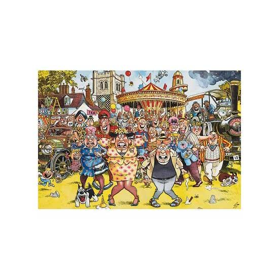 Puzzle 1000 pièces - Wasgij : Kermesse - Jumbo-01956-2007