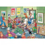Puzzle 150 pièces : Chez le dentiste