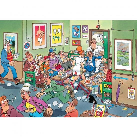 Puzzle 150 pièces : Chez le dentiste - Jumbo-617456
