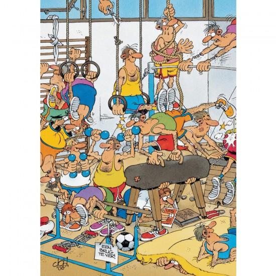 Puzzle 150 pièces : Jan Van Haasteren : Gymnastique - Jumbo-617455
