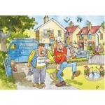 Puzzle 150 pièces - Wasgij : La grande inondation