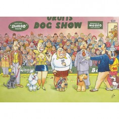 Puzzle 150 pièces - Wasgij Mystery : Le concours canin