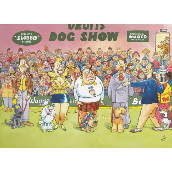 Puzzle 150 pièces - Wasgij Mystery : Le concours canin - Diset-Jumbo-12290