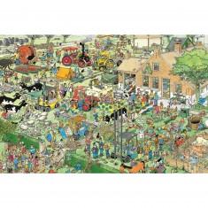 Puzzle 1500 pièces - Jan Van Haasteren : La ferme