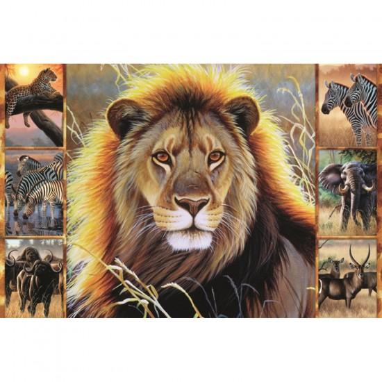 Puzzle 1500 pièces : La beauté de l'Afrique - Jumbo-18356