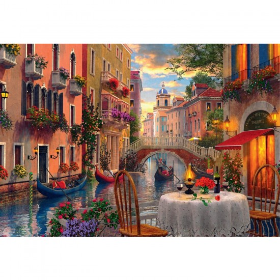 Puzzle 1500 pièces : Scénario romantique - Jumbo-17040