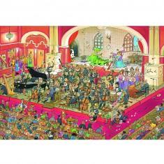 Puzzle 2000 pièces : Jan Van Haasteren : L'opéra