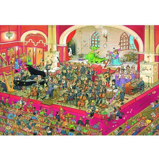 Puzzle 2000 pièces : Jan Van Haasteren : L'opéra - Jumbo-617222