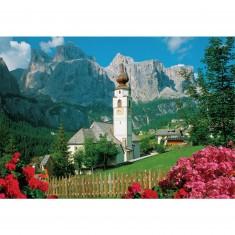 Puzzle 2000 pièces : Les Dolomites, Italie