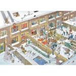 Puzzle 2000 pièces : Réveillon de Noël, Jan Van Haasteren