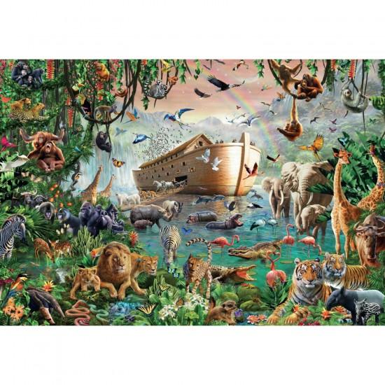 Puzzle 3000 pièces : L'arche de Noé - Jumbo-18326