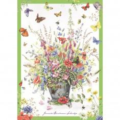 Puzzle 500 pièces : Bouquet d'été, Janneke Brinkman-Salentijn