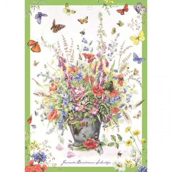 Puzzle 500 pièces : Bouquet d'été, Janneke Brinkman-Salentijn - Jumbo-18349