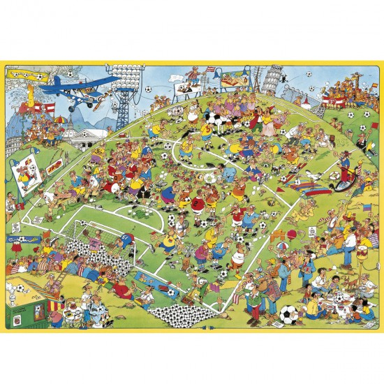 Puzzle 500 pièces : Football - Jumbo-617276