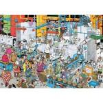 Puzzle 500 pièces : Jan Van Haasteren : La fabrique de bonbons