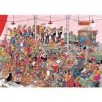 Puzzle 500 pièces : La fête de la bière